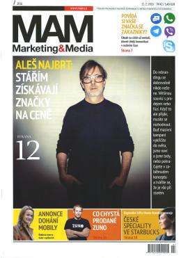 Marketing & Media 7/2016, Aleš Najbrt: Stářím získávají značky na ceně