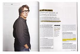 Strategie 8/2013, Aleš Najbrt: Grafický design je normální byznys