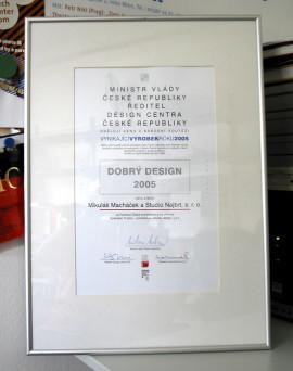 Cena Design centra české republiky – Vynikající výrobek