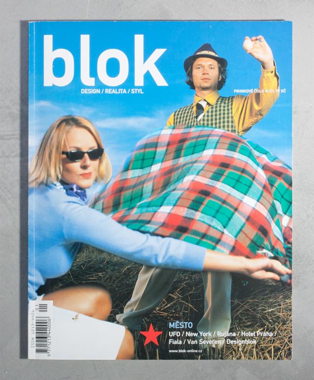 BLOK 1/2001, Město/City, Michaela Kádnerová