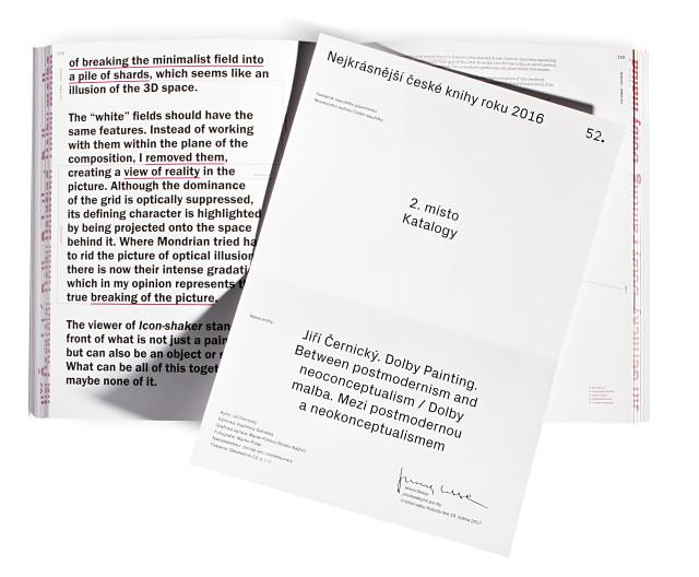 Nejkrásnější české knihy roku 2016 – Katalogy