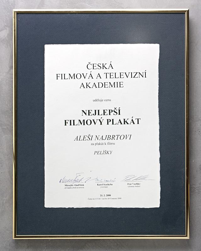 Cena ČFTA za Pelíšky