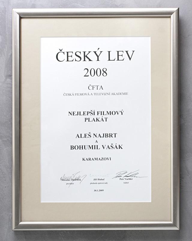 Cena ČFTA za Karamazovi