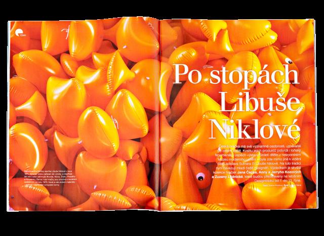 Esprit 8/2013, Po stopách Libuše Niklové, Tereza Kozlová