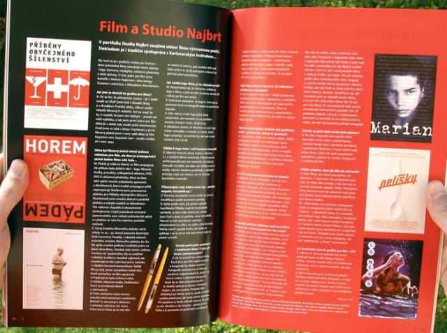 Font 82, Film a studio Najbrt, Vladimír Kolenský