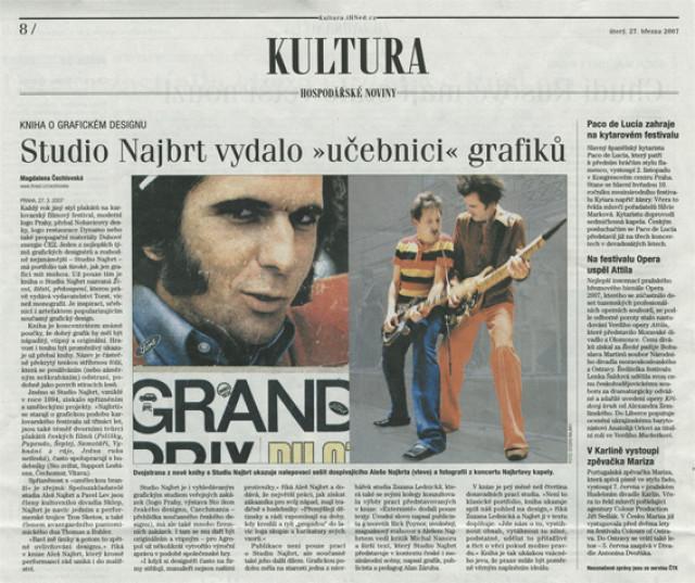 Hospodářské noviny 27. 3. 2007