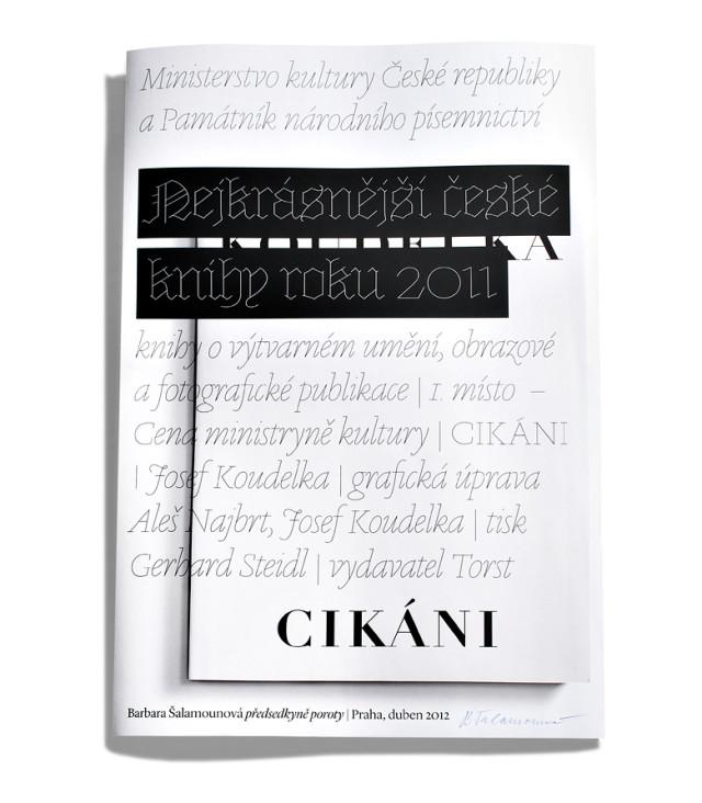 Nejkrásnější česká kniha roku 2011