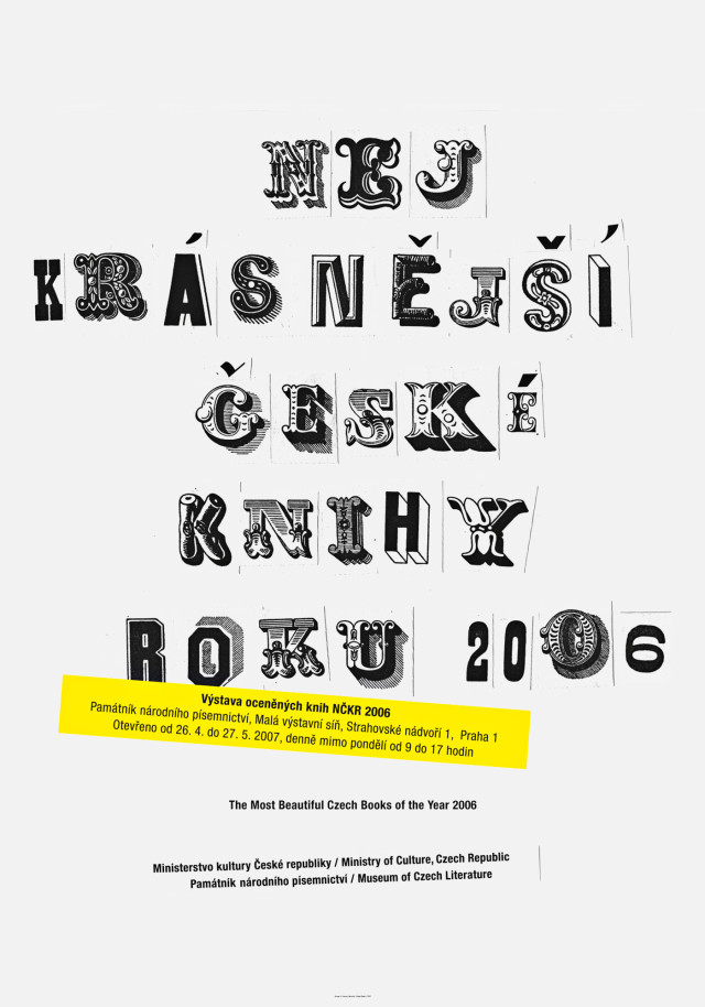 The Most Beautiful Czech Books Of the Year 2006