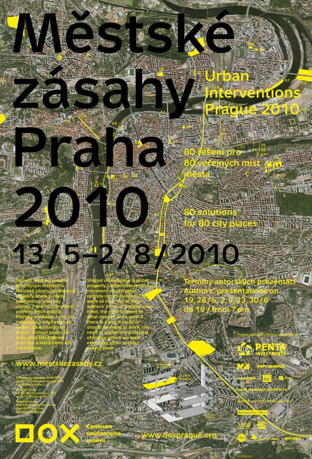 Městské zásahy Praha