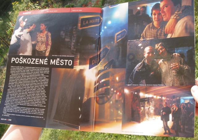 Reflex 46/2001, Poškozené město, Milan Tesař