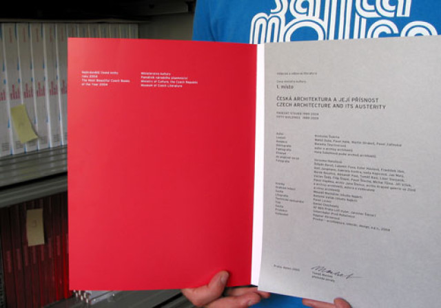 Nejkrásnější česká kniha roku 2004