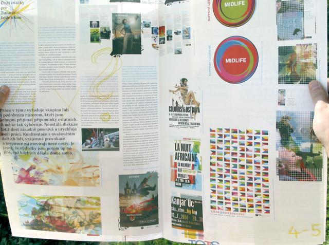 TypoDesign news, 2/2005, Rozhovor se Zuzanou Lednickou