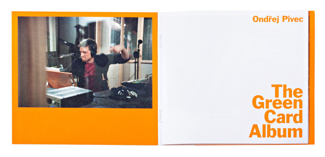 Ondřej Pivec: The Green Card Album, autor: Marek Pistora, foto: Ryuhei Shindo