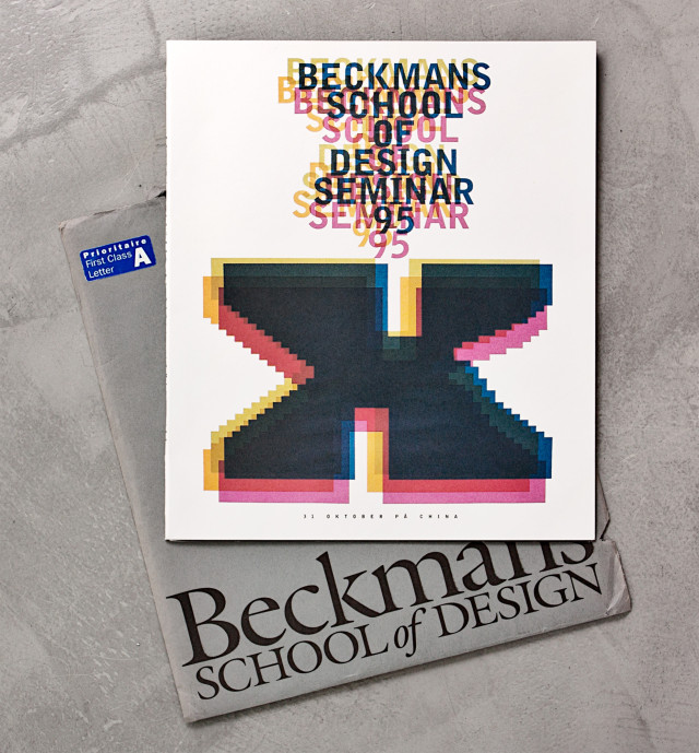 Beckmans School of Design, Stockholm, Švédsko