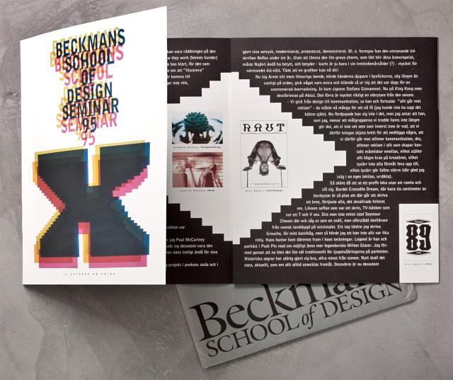 Beckmans School of Design, Stockholm, Sweden