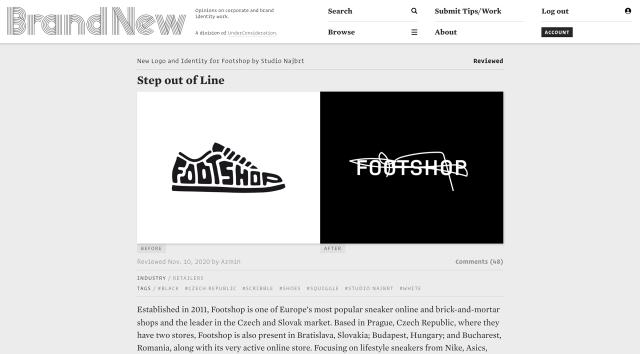 Footshop, Brand New, 10/12/2020