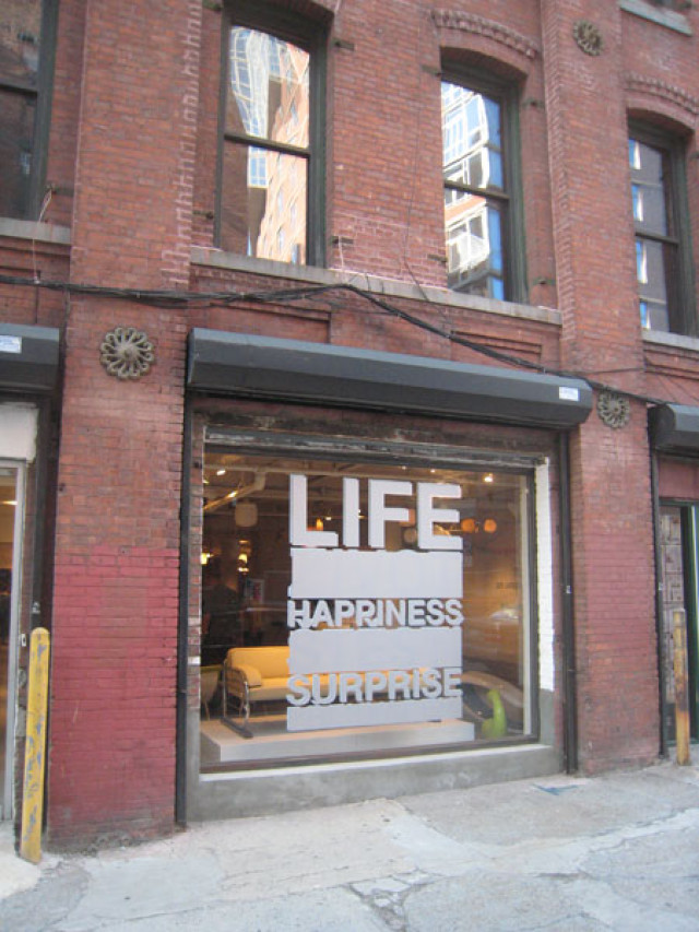 Life Happiness Surprise, Prague Kolektiv, New York, USA