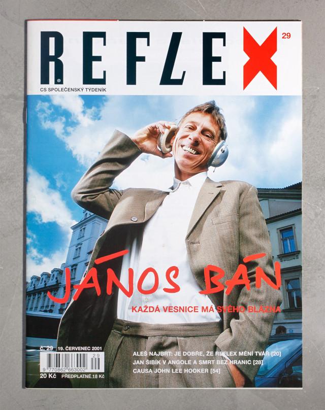 Reflex 29/2001, Sprinter, Petr Volf