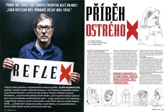 Reflex, 16/2015, Příběh ostrého X, Marek Gregor