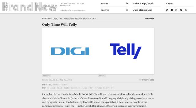 Telly, Brand New, 1/4/2020