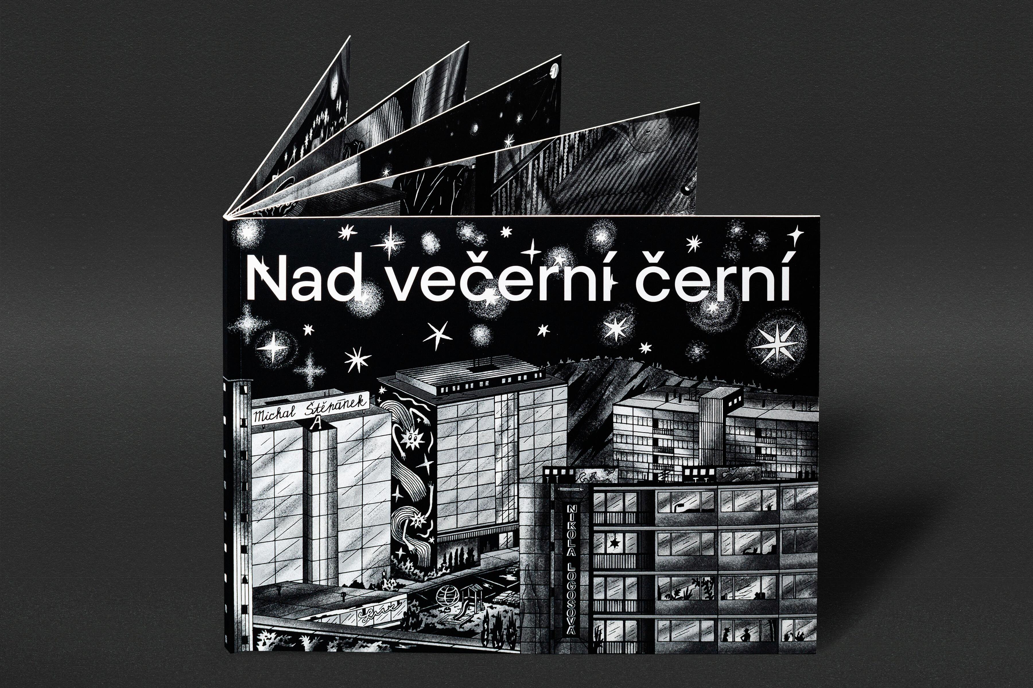 Michal Štěpánek: Nad večerní černí