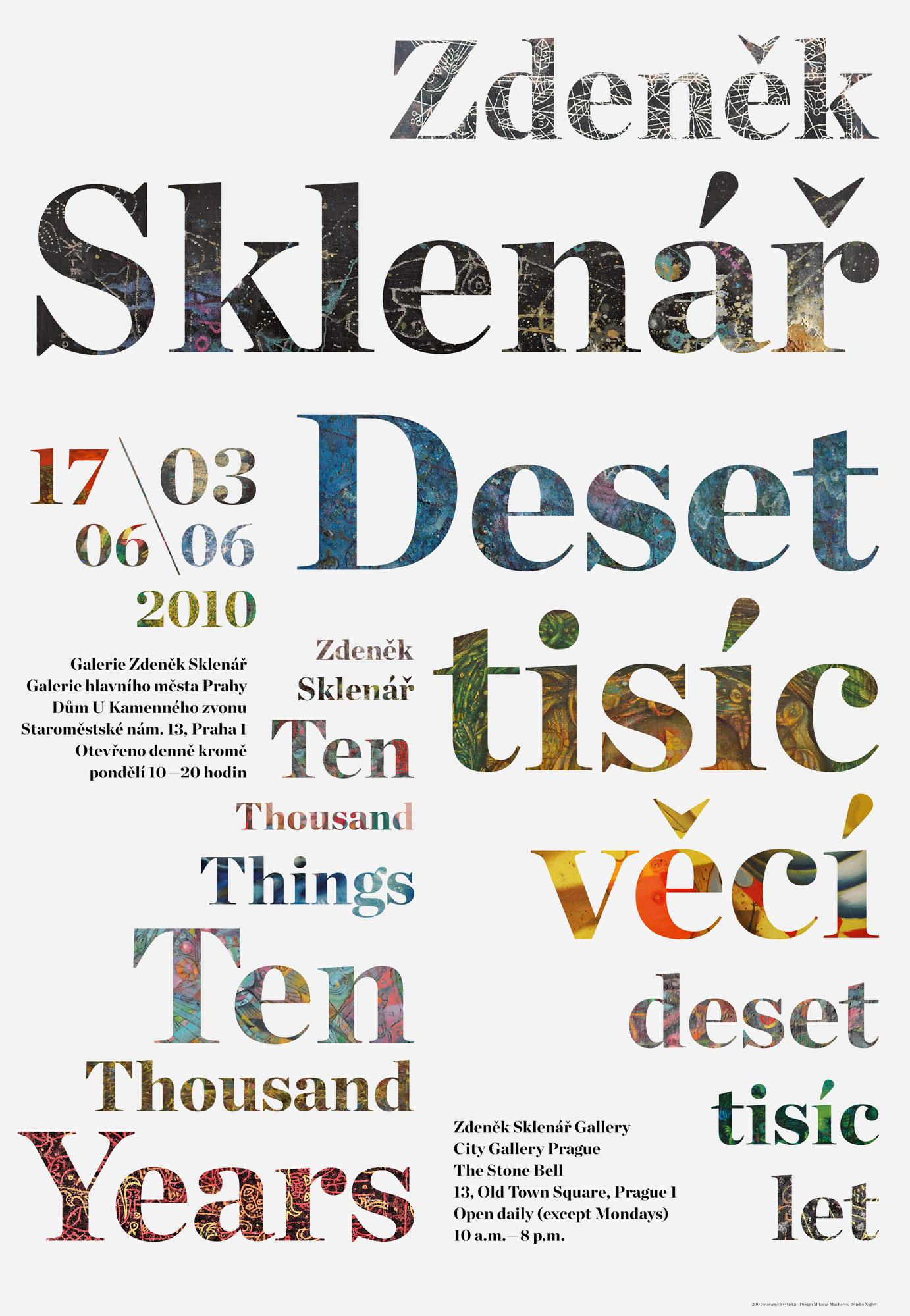 Zdeněk Sklenář: Ten Thousand Things – Ten Thousand Years